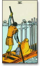 Row, row, row your boat: The 6 of Swords
