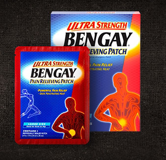 BENGAY® Ultra-Strength Pain-Relief Patches