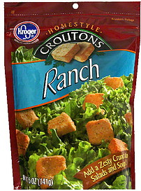 Ranch-Flavored Homestyle Croutons