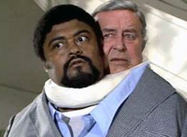 Rosie Grier and Ray Milland in ''The Thing With Two Heads,'' circa 1972