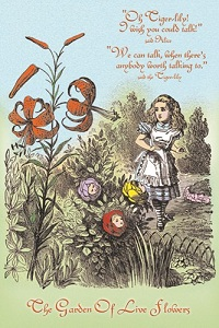 ''The Garden Of Live Flowers'' by John Tenniel, an illustration from ''Through The Looking-Glass'' by Lewis Carroll (aka Charles Lutwidge Dodgson)