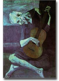 Picasso's 'The Old Guitar Player'