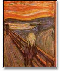''The Scream'' (aka ''The Cry'') by Edvard Munch